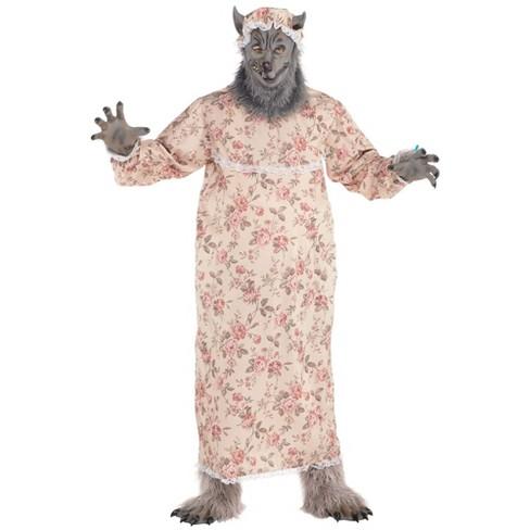 Men's Grandma Wolf Halloween Costume - image 1 of 1