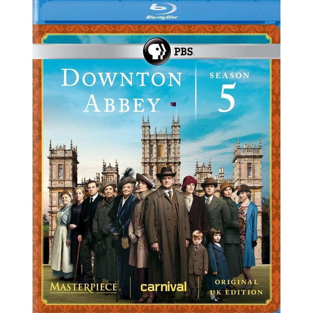 Masterpiece: Downton Abbey - Season 5 [3 Discs] [Blu-ray]