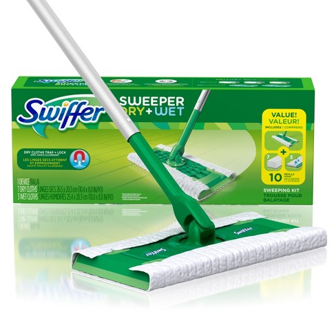 Swiffer Sweeper Dry + Wet Sweeping Kit - image 1 of 8