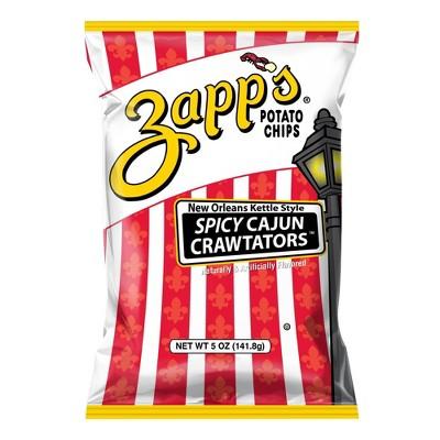 Zapp's New Orleans Kettle Style Spicy Cajun Crawtators - 5oz