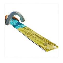 Wham O 16 Foot Backyard and Lawn Mega Shark Slip N Slide Outdoor Water Slide Toy