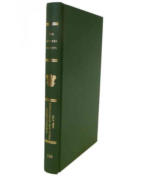 Northallerton Wills and Inventories, 1666-1719 (Hardcover) - image 1 of 1