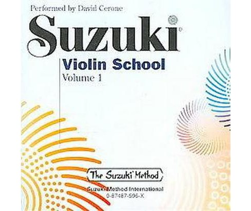 David Cerone Performs Suzuki Violin School (Vol 1) (CD/Spoken Word) - image 1 of 1