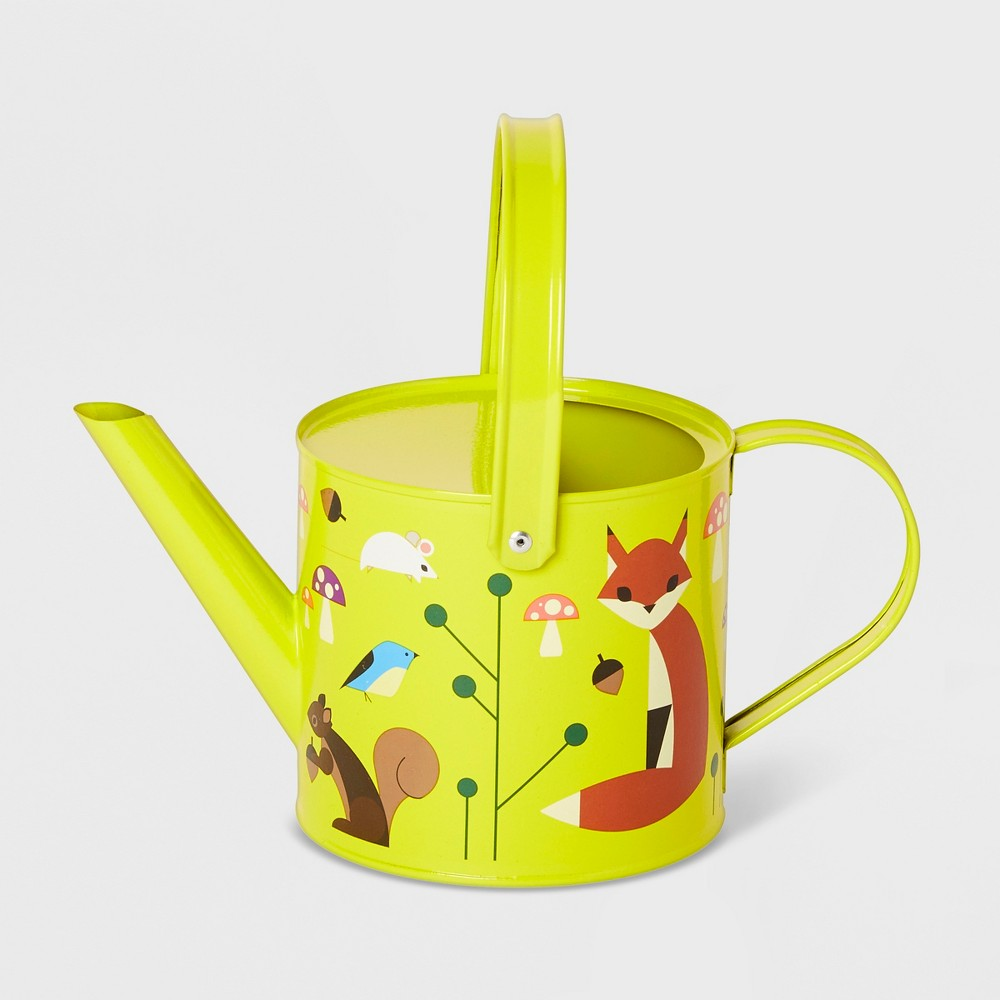 Image of Forest Friends Watering Can Light Green - Kid Made Modern