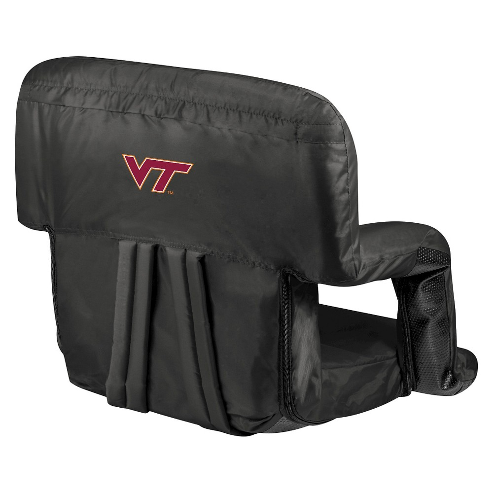 Portable Stadium Seats NCAA Virginia Tech Hokies Black