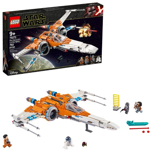 Lego Star Wars Poe Dameron S X Wing Fighter Building Kit 75273 Target