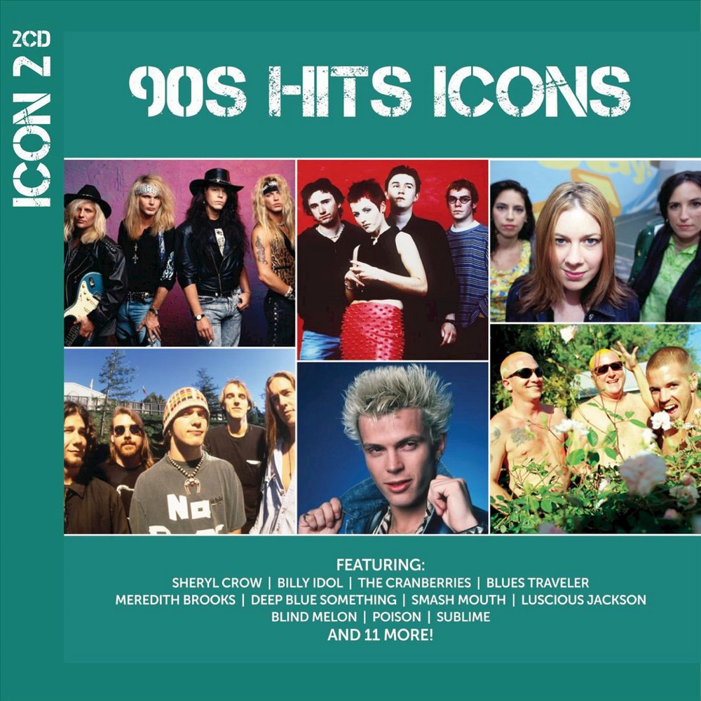 Various - Icon:90's Hits (CD)