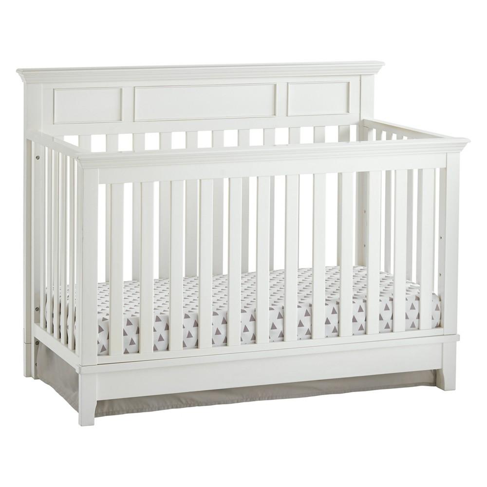 Kolcraft Harper Convertible Crib - White