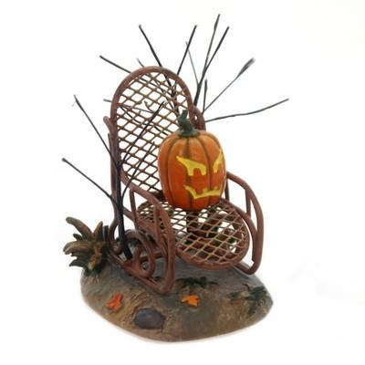 "Department 56 Accessory 3.0"" Haunted Porch Rocker Halloween Village Pumpkin  -  Decorative Figurines"