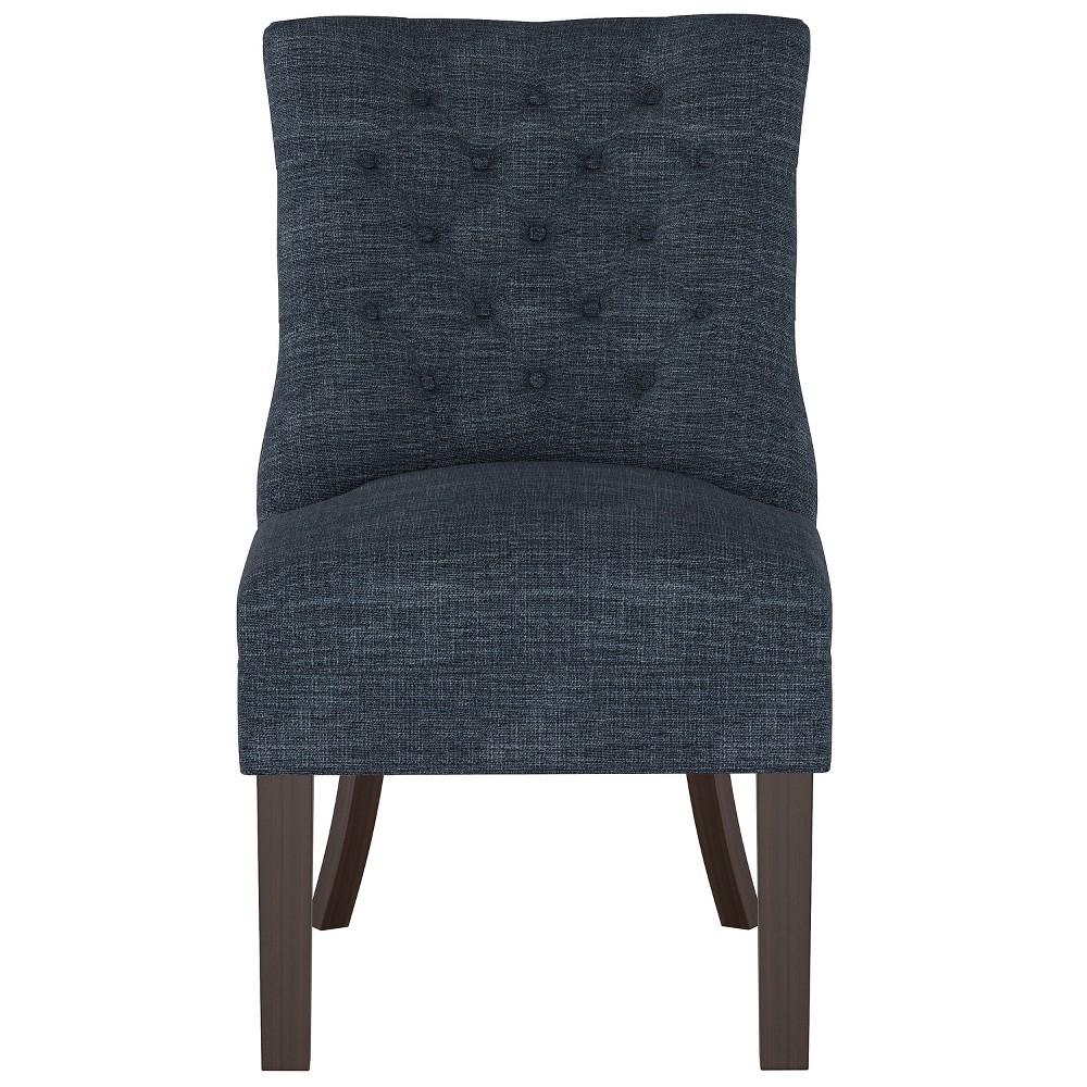 Winslow Tufted Back Chair Indigo (Blue) - Threshold