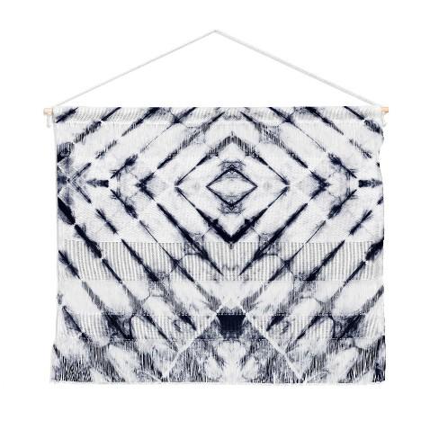 Little Arrow Design Co Shibori Wall Hanging Landscape Tapestries Blue - Deny Designs - image 1 of 1