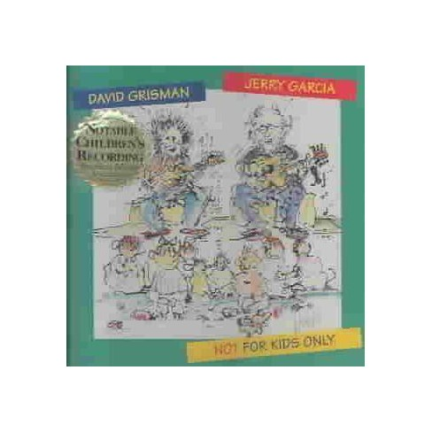 Kids Only Cd.Jerry Garcia David Grisman Not For Kids Only Cd