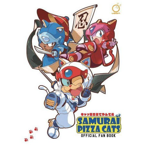 Samurai Pizza Cats: Official Fan Book - by  Tatsunoko Production (Paperback) - image 1 of 1