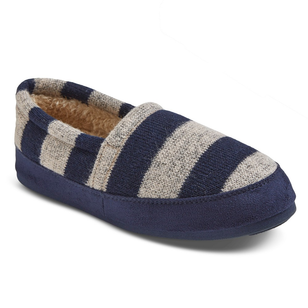 Women's Comfy by Daniel Green Moccasin Slippers - Navy (Blue) 9