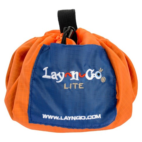 Lay-n-Go Lite - Orange with Blue - image 1 of 2