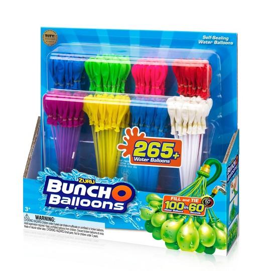 Zuru Bunch O Balloons 8pk Rapid-Filling Self-Sealing Water Balloons image number null