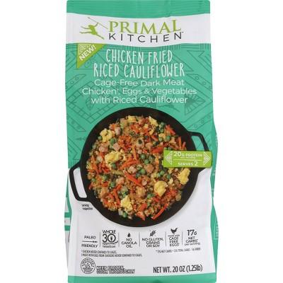 Primal Kitchen Gluten Free Frozen Cauliflower Chicken Fried Rice Skillet - 20oz
