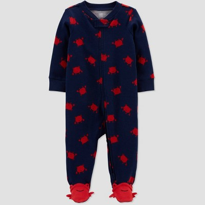 Baby Boys' Crab Sleep N' Play - Just One You® made by carter's Navy Newborn