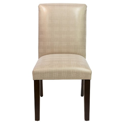 Uptown Dining Chair - Polished Gold - Skyline Furniture® - image 1 of 5