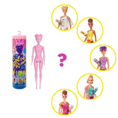 Barbie Color Reveal Sand & Sun Series Fashion Doll