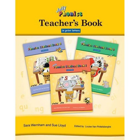 Jolly Phonics Teacher's Book in Print Letters - by  Sara Wernham & Sue Lloyd (Paperback) - image 1 of 1