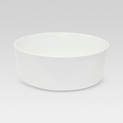 Bowl Small Basic Modern White 62.4oz - Threshold™