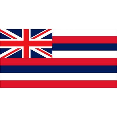 Hawaii State Flag - 3' x 5'