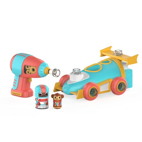 Educational Insights Design & Drill Bolt Buddies Race Car - image 1 of 1