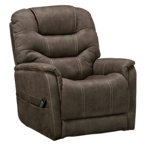 Ballister Power Lift Recliner Gunmetal Gray - Signature Design by Ashley - image 1 of 7