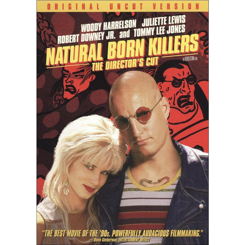 Natural Born Killers Unrated Director 39 S Cut Dvd