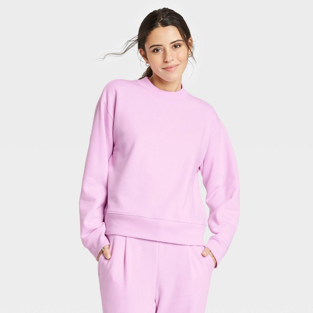 Women 39 S Sweatshirt A New Day 8482 Light Pink S