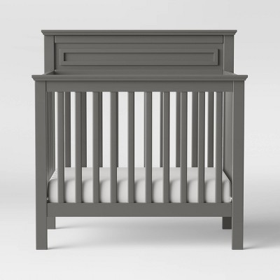 Davinci Autumn 4-In-1 Mini Crib And Twin Bed - Slate