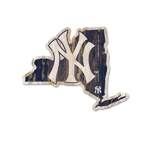 MLB New York Yankees Wood State Sign - image 1 of 1