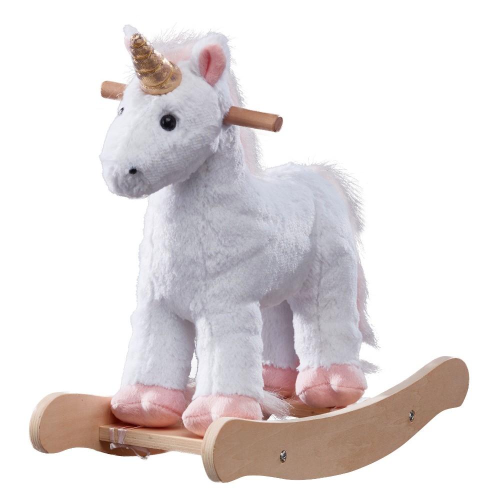 Olivia's Little World - 16 Doll Unicorn Rocking Horse