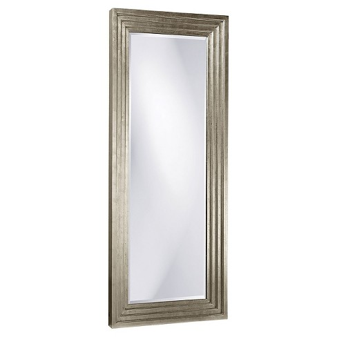 Rectangle Delano Floor Mirror Silver - Howard Elliott - image 1 of 1