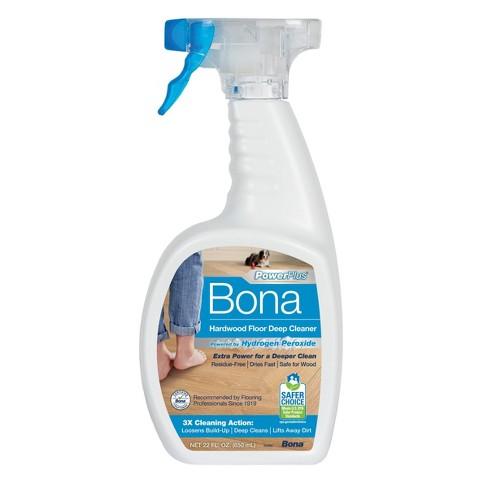 Bona PowerPlus Hardwood Floor Deep Cleaner - 22oz - image 1 of 4