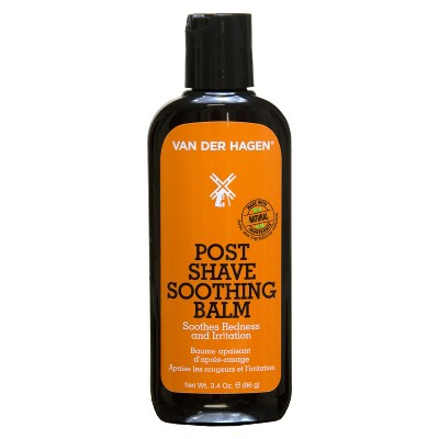 Van Der Hagen Post Shave Soothing Balm - 3.4oz