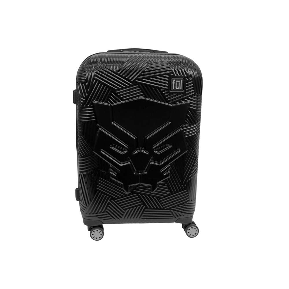 "Image of ""FUL 21"""" Black Panther Hardside Suitcase - Black"""