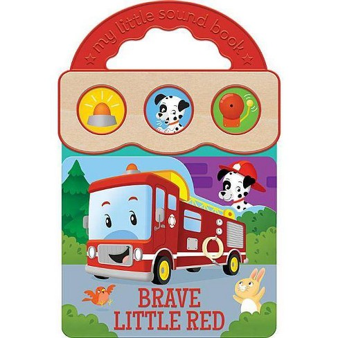 Brave Little Red - (Early Bird Sound Books) by Robin Rose (Board_book)