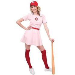 Orion Costumes Rockford Peaches Women's Costume Baseball Uniform - Large