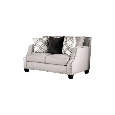 BurnsLoveseat Casual Gray - HOMES: Inside + Out
