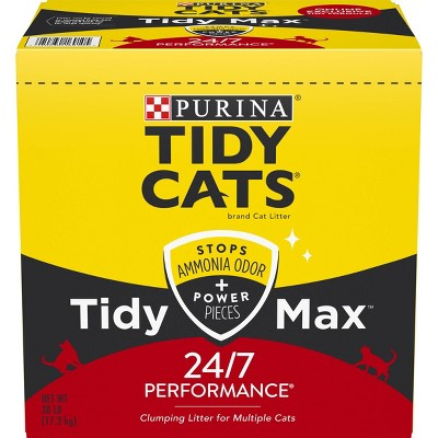 Tidy Cats Max 24/7 Performance Clumping - 38lb