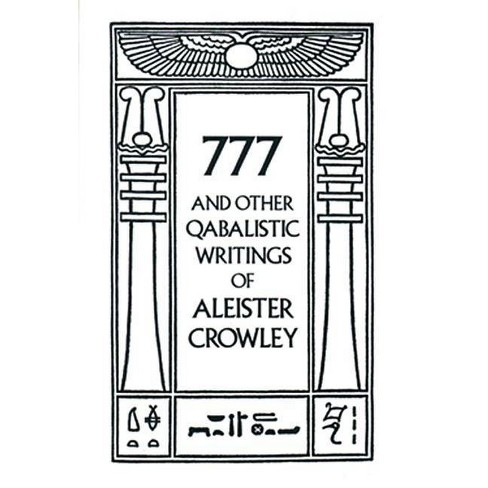 777 & Other Qabalistic Writings of Aleister Crowley - (Paperback) - image 1 of 1