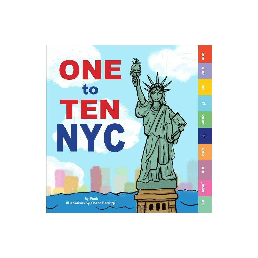 One To Ten Nyc By Puck Board Book
