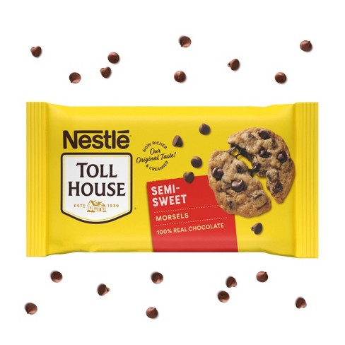 Nestle Toll House Semi-Sweet Chocolate Morsels - 24oz - image 1 of 4