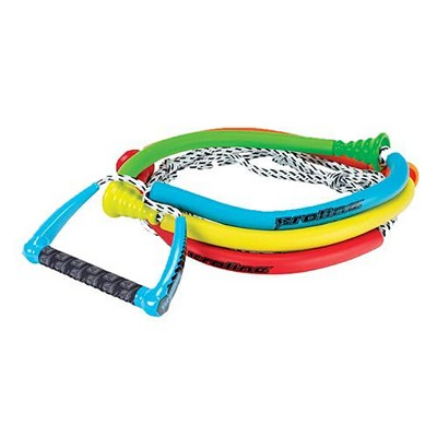 Connelly Color Coordinated 30-Foot Long Beginner Tug Surf Rope with 10-Inch Comfortable Grip Floating Handle
