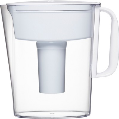 Brita Metro 5-Cup Water Filtration Pitcher - White