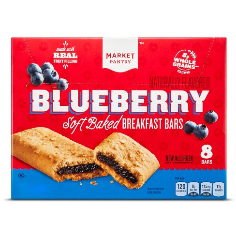 Blueberry Cereal Bars 8ct - Market Pantry™ - image 1 of 1