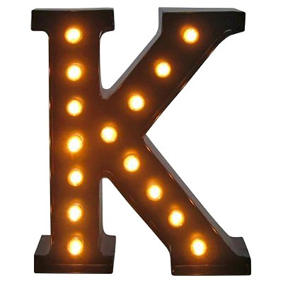 Metal Marquee Small Letter LED Lamp K - Threshold™