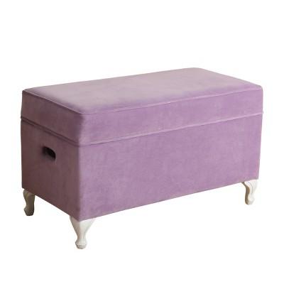 Kids' Diva Decorative Storage Bench - HomePop